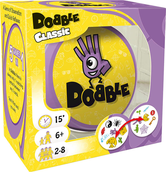 Dobble Card Game in a Tin
