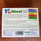 1st To Worst - Party Game