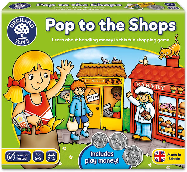Orchard Toys Pop To The Shops Game | Age 5+