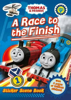 Thomas & Friends: A Race to the Finish Sticker Book