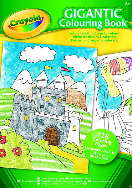 Crayola Gigantic Colouring Book - 128 page