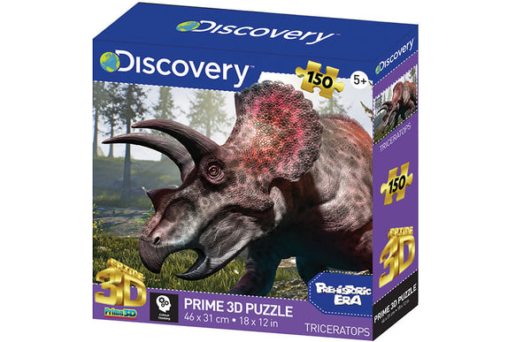 Discovery Prime 3D Puzzle Triceratops 150pc