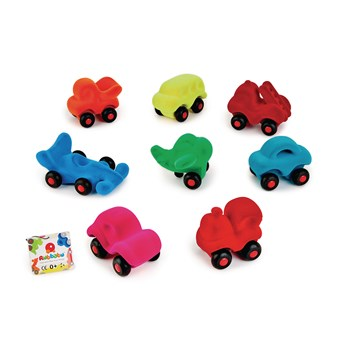 Rubbabu Micro Vehicles | Suitable from Birth | Infant Toy