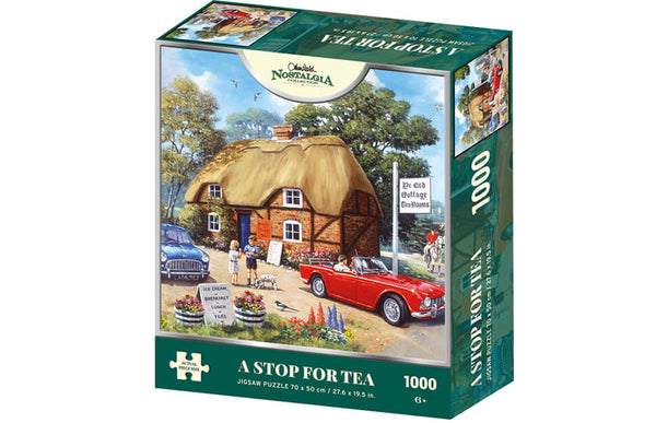 Kevin Walsh Nostalgia - A Stop for Tea 1000pc