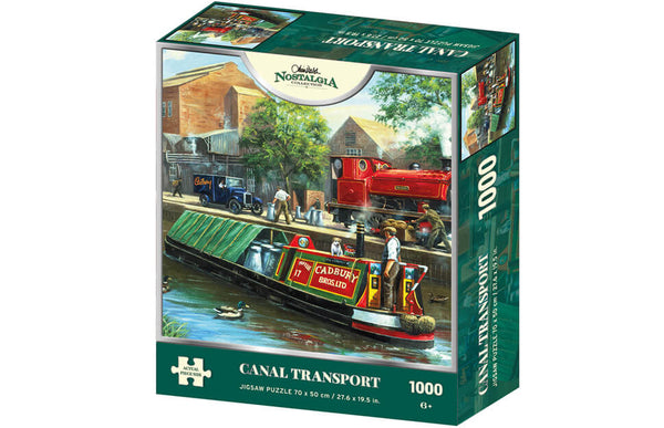 Kevin Walsh Nostalgia Canal Transport 1000pc
