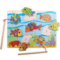 BJ Tropical Magnetic Fishing Puzzle Age 12m+
