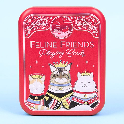 Cat Playing Cards - Feline Friends