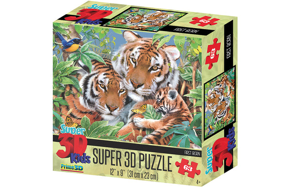 Howard Robinson First Born Super 3D Puzzle 63 pc