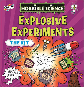 Galt Horrible Science Explosive Experiments