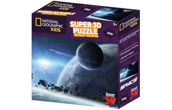 National Geographic Puzzle Satellite in Space 150pc