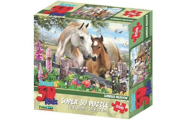 Howard Robinson Super 3D Puzzle Summer Meadow 150pc