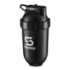 700mls ShakeSphere Tumbler Original Glossy Black/White Logo