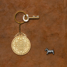 Load image into Gallery viewer, Mughal Circle Capra Key Chain