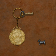 Load image into Gallery viewer, Capra Lord Ganesh Keychain