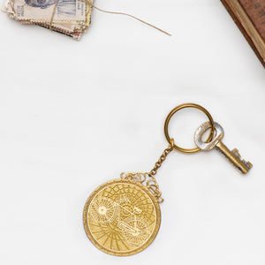 Cycle Capra Key Chain