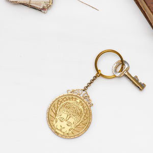 Lord Hanuman Capra Key Chains