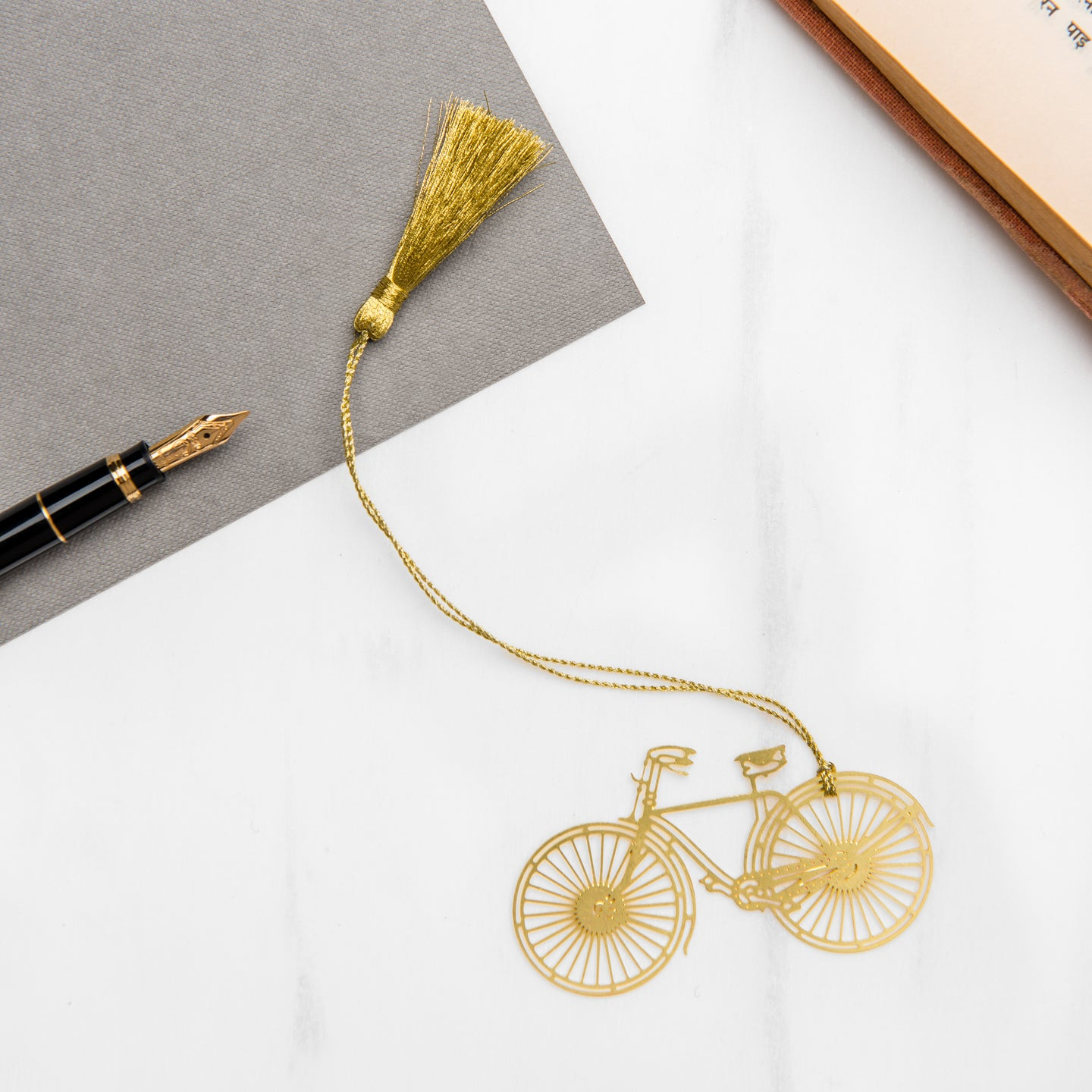 Cycle Metal Bookmark