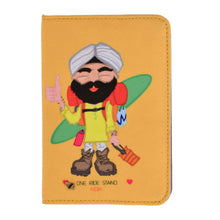 Load image into Gallery viewer, The Hitch Hiking  Yellow Sardar Passport Cover