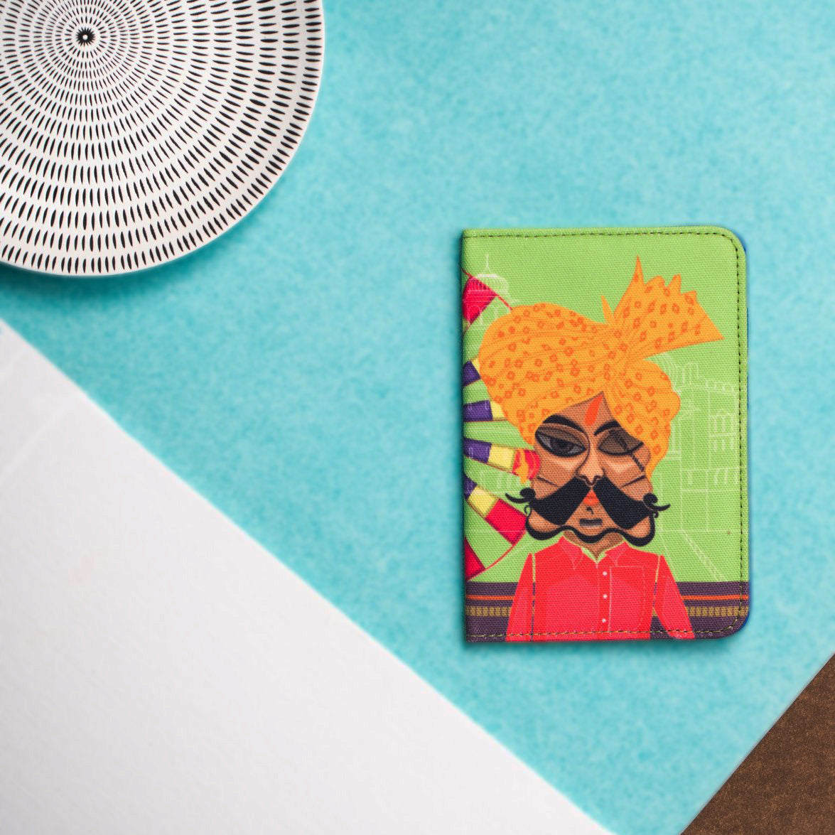 The Dakoo & The Fort Neon Passport Cover