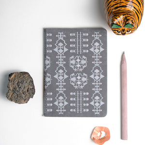 Katah Grey Capra Notebook