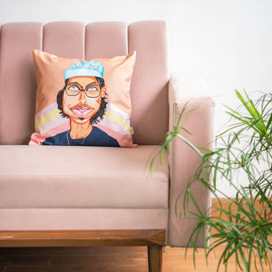 Mr. Stalker Cushion Cover