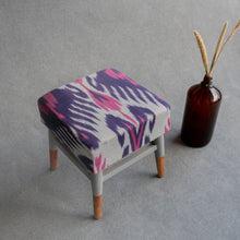 Load image into Gallery viewer, STOOL IKAT BLUE