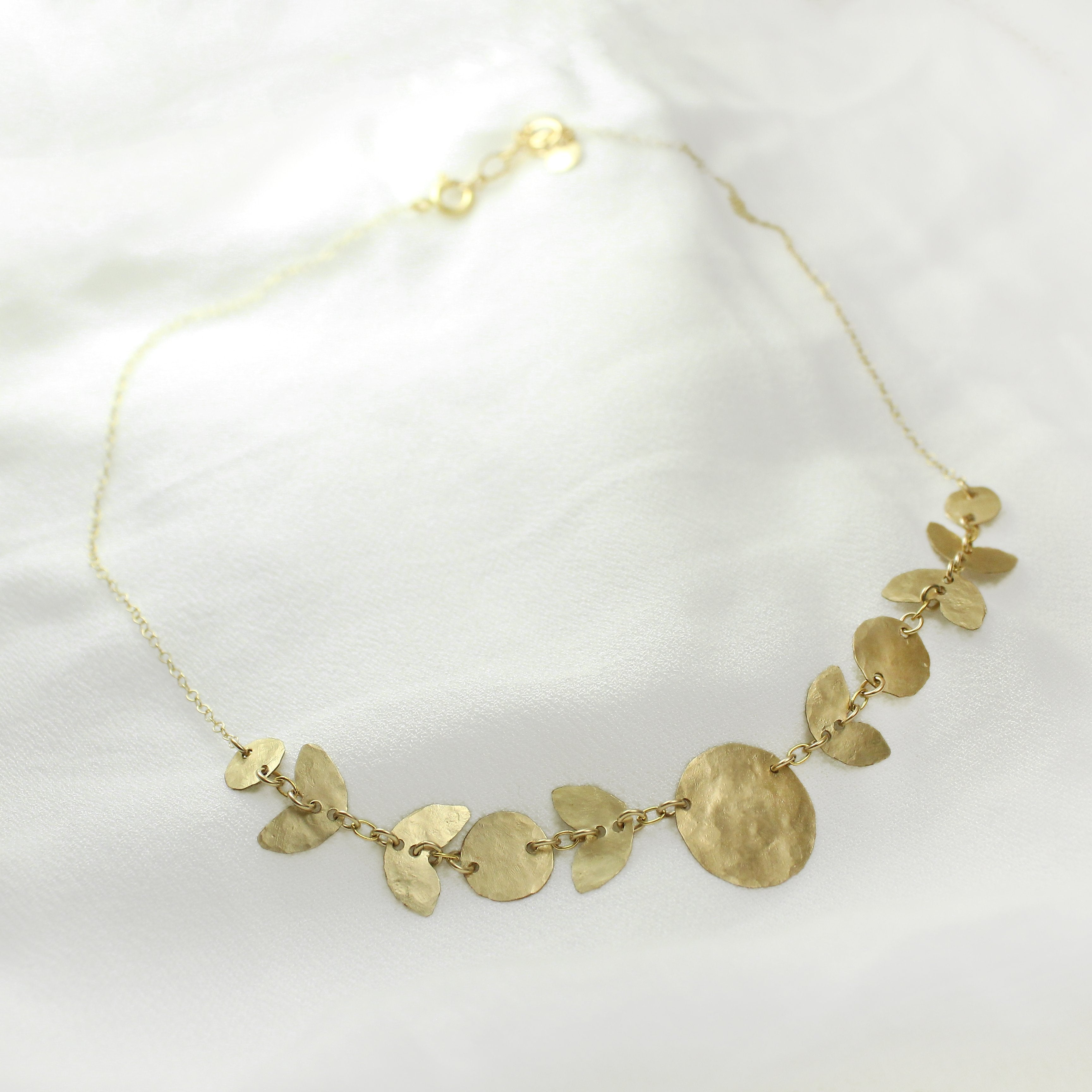 Ancient Egyptian Necklace (Gold filled/Silver) - Shulamit Kanter