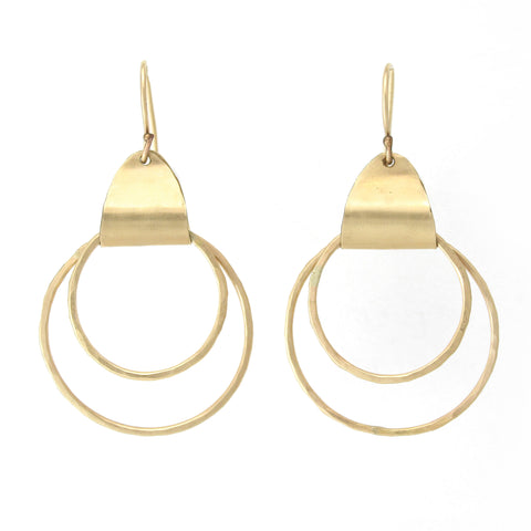 Ancient Egyptian Earrings (Gold filled/Silver)
