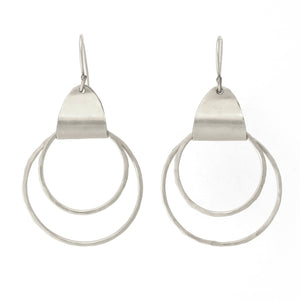 Open image in slideshow, Ancient Egyptian Earrings (Gold filled/Silver) - Shulamit Kanter
