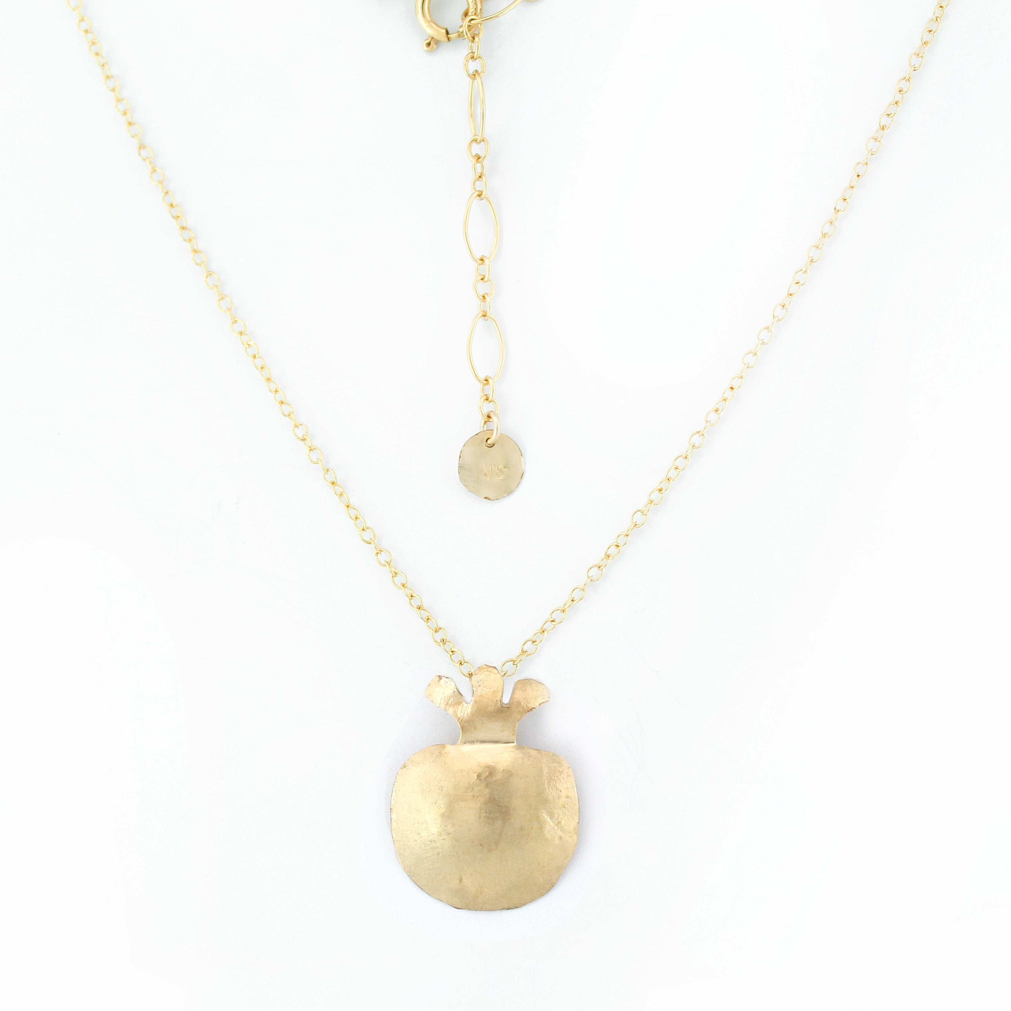 Pomegranate 14K Gold filled Necklace - Shulamit Kanter Official Store