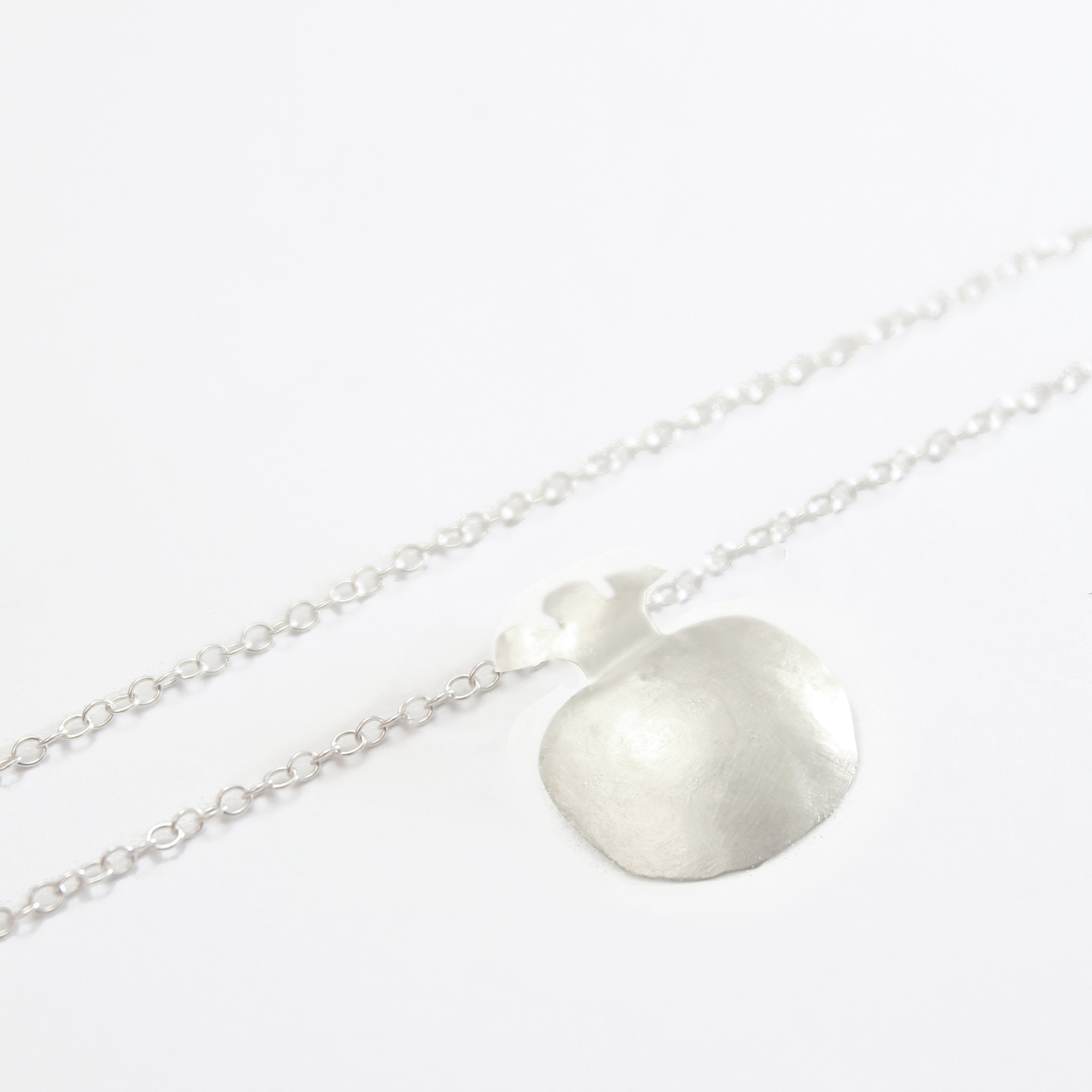Pomegranate Silver Necklace - Shulamit Kanter Official Store