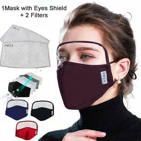 Face Mask Cotton Windproof Sunscreen Face Shield