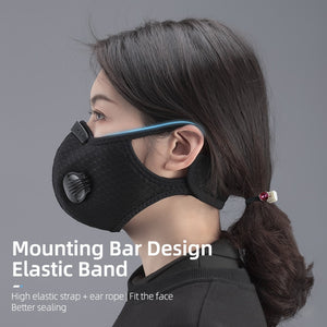 Face Mask with Filter KN95