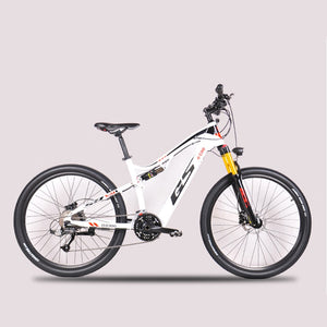27.5 inch electric soft tail off-road bike