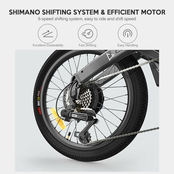 HIMO C20 Electric Bicycle 250W DC Motor