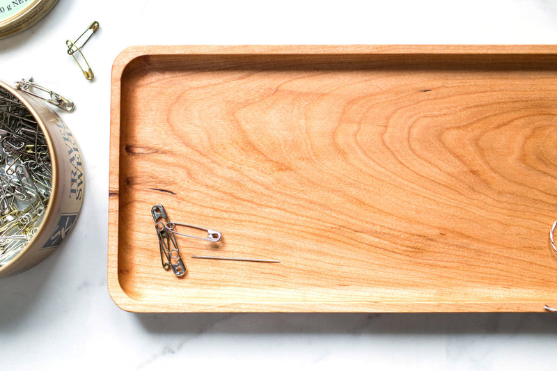 Catchall Tray / Valet Tray - Cherry Wood