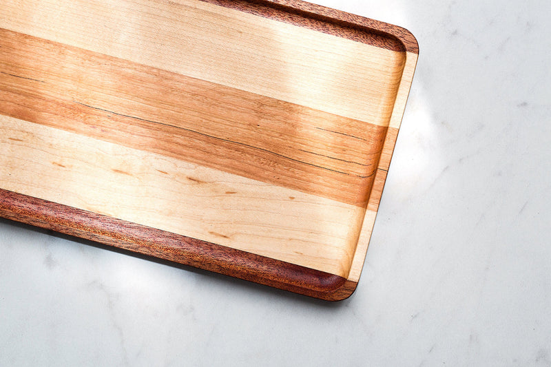 Catchall Tray - Mahogany/Maple/Cherry