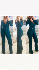 Jacket Jumpsuit Teal