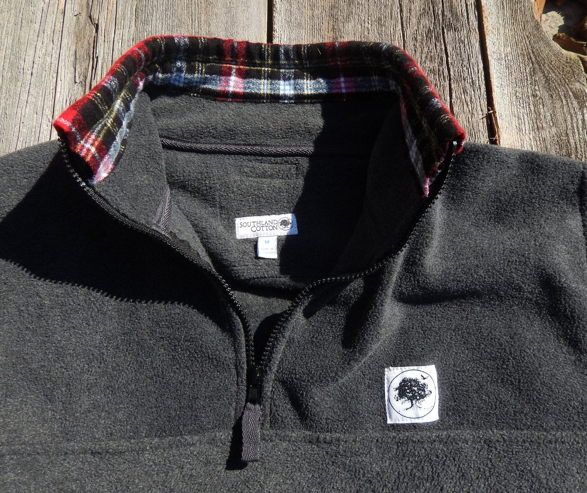 Charcoal Lumberjack Campus Fleece