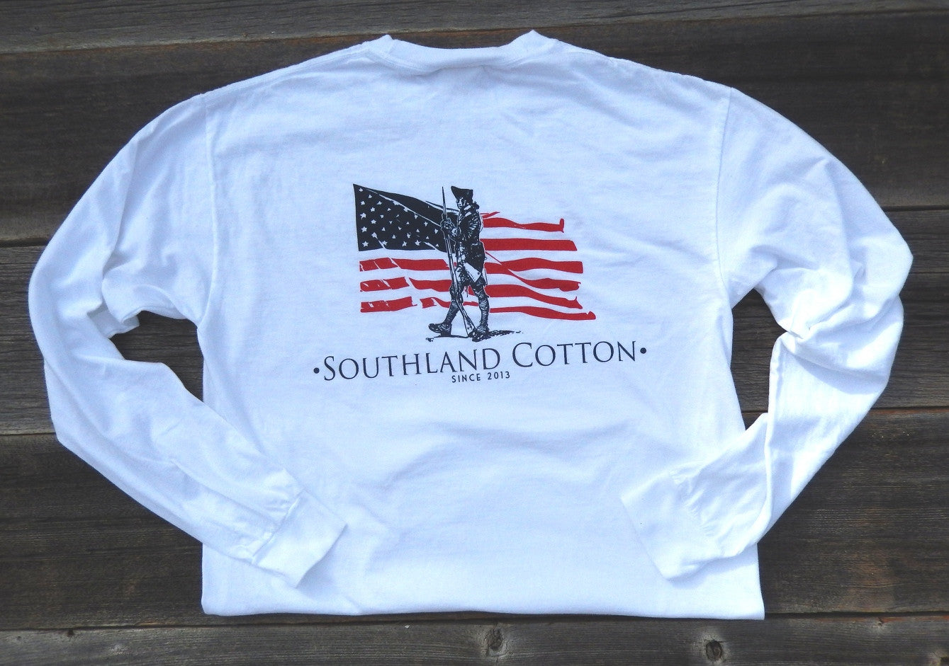 Long Sleeve Pearl White Independence Shirt