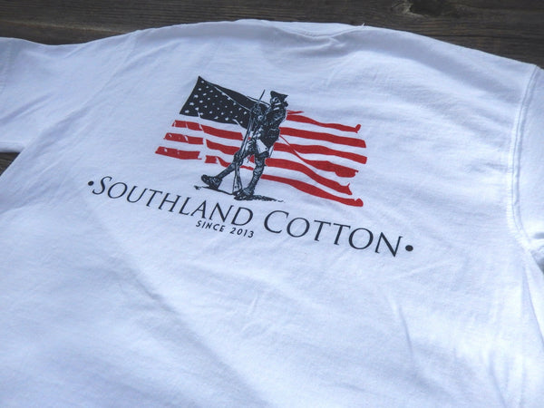 Short Sleeve Pearl White Independence Shirt