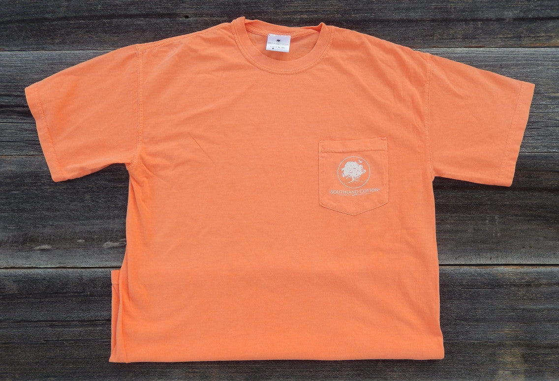 Short Sleeve Mellow Orange Established Shirt