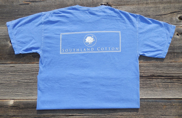 Short Sleeve Sky Blue New Banner Shirt