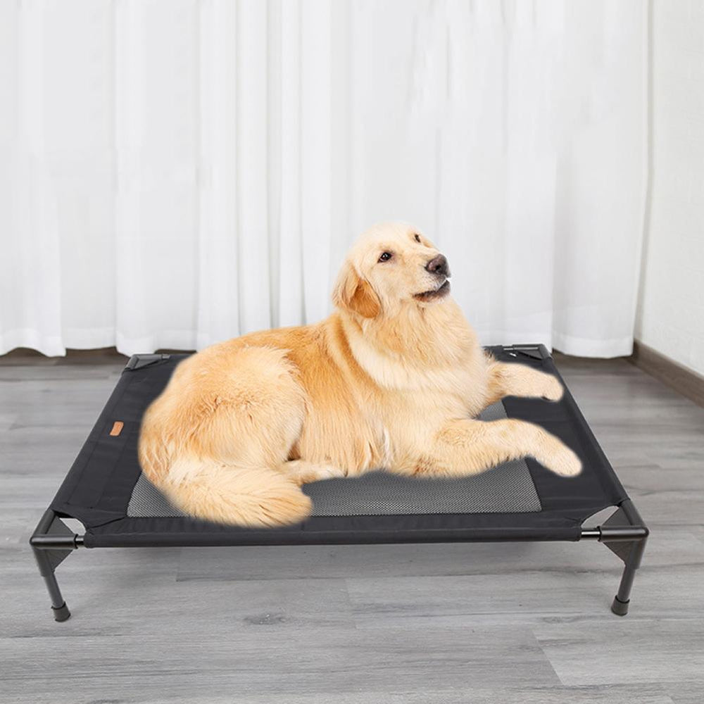Elevated Cooling Dog Bed – Lightweight and Durable