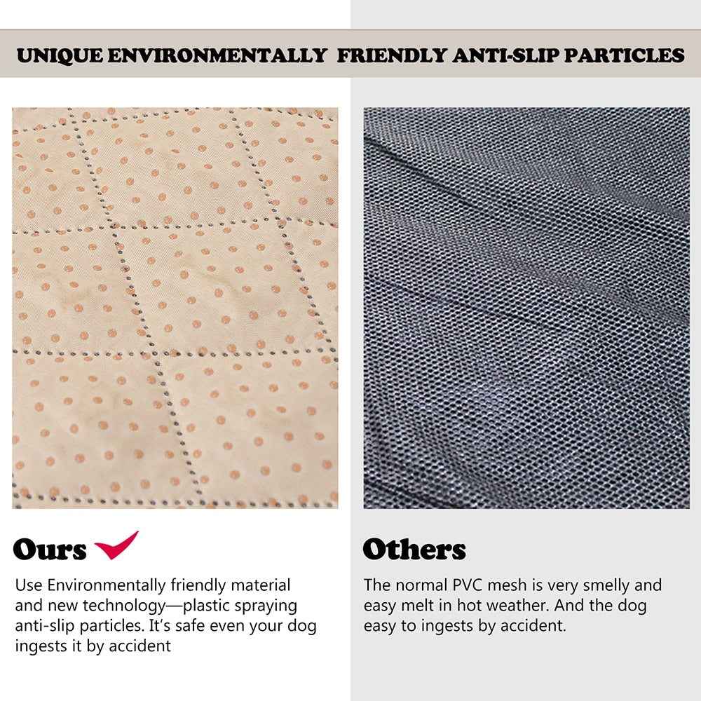 comparison of materials for car seat protector