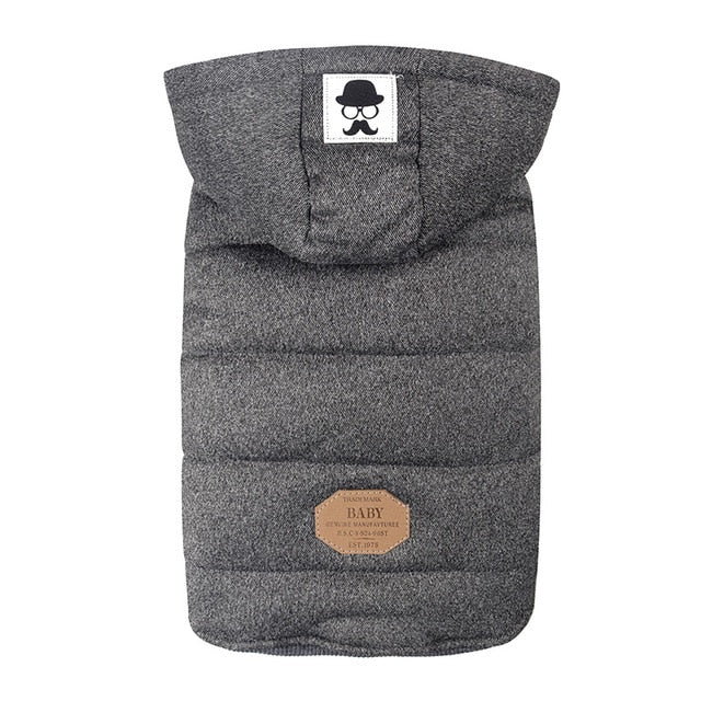 Padded Winter Dog & Cat Hoodie