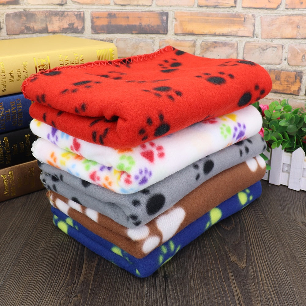 Fleece Dog and Cat Blanket in 5 Styles