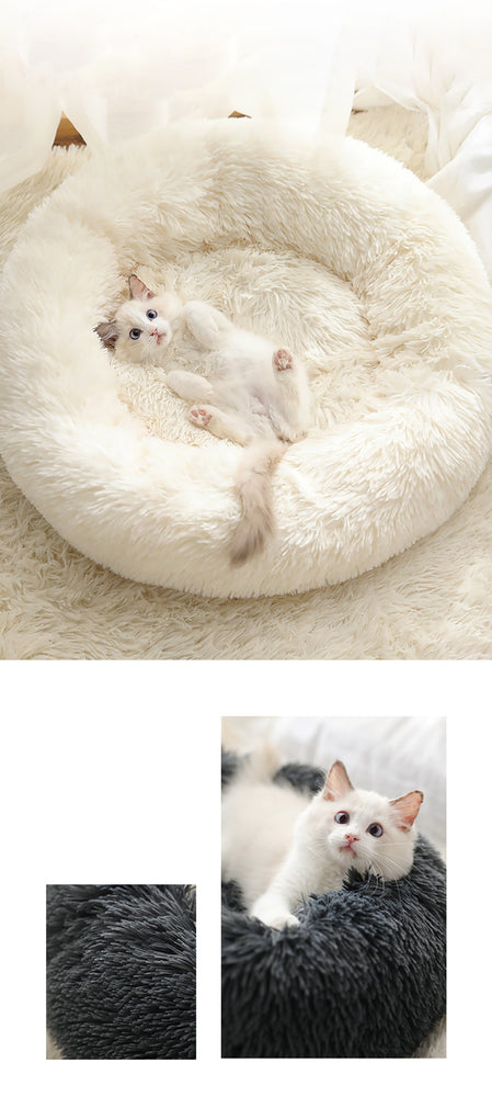 Anti-Anxiety Dog & Cat Donut Bed