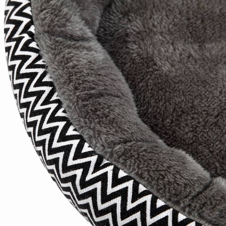 Round Stylish Pet Bed for Small Dogs or Cats