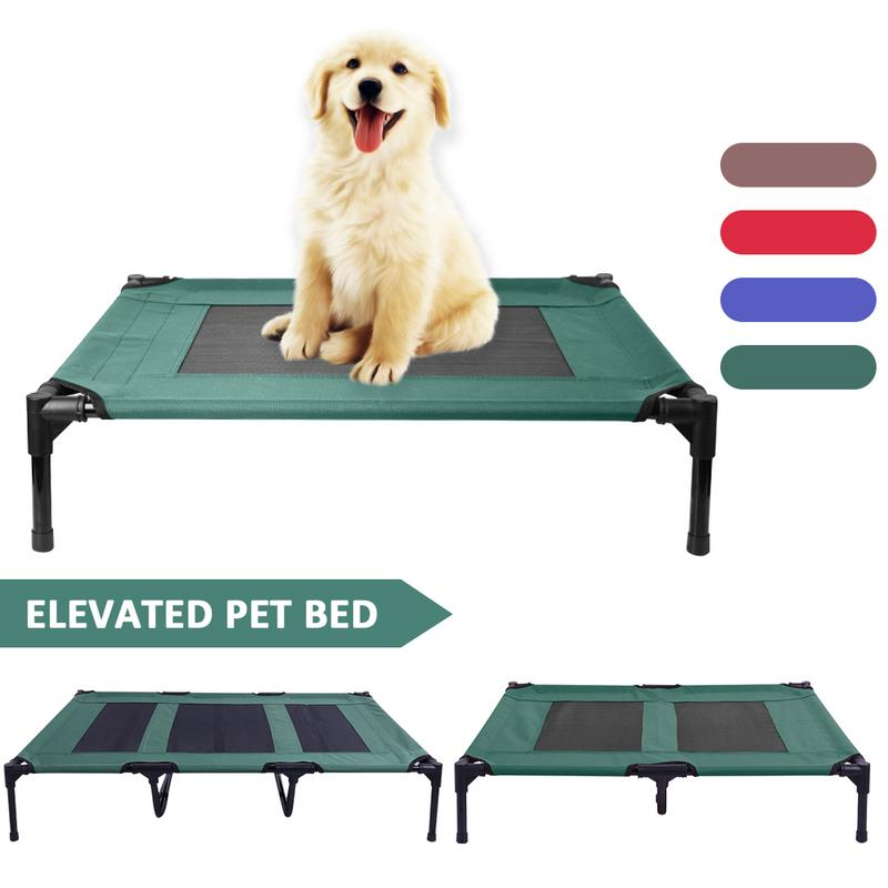Elevated Dog Bed with Cooling Breathable Mesh